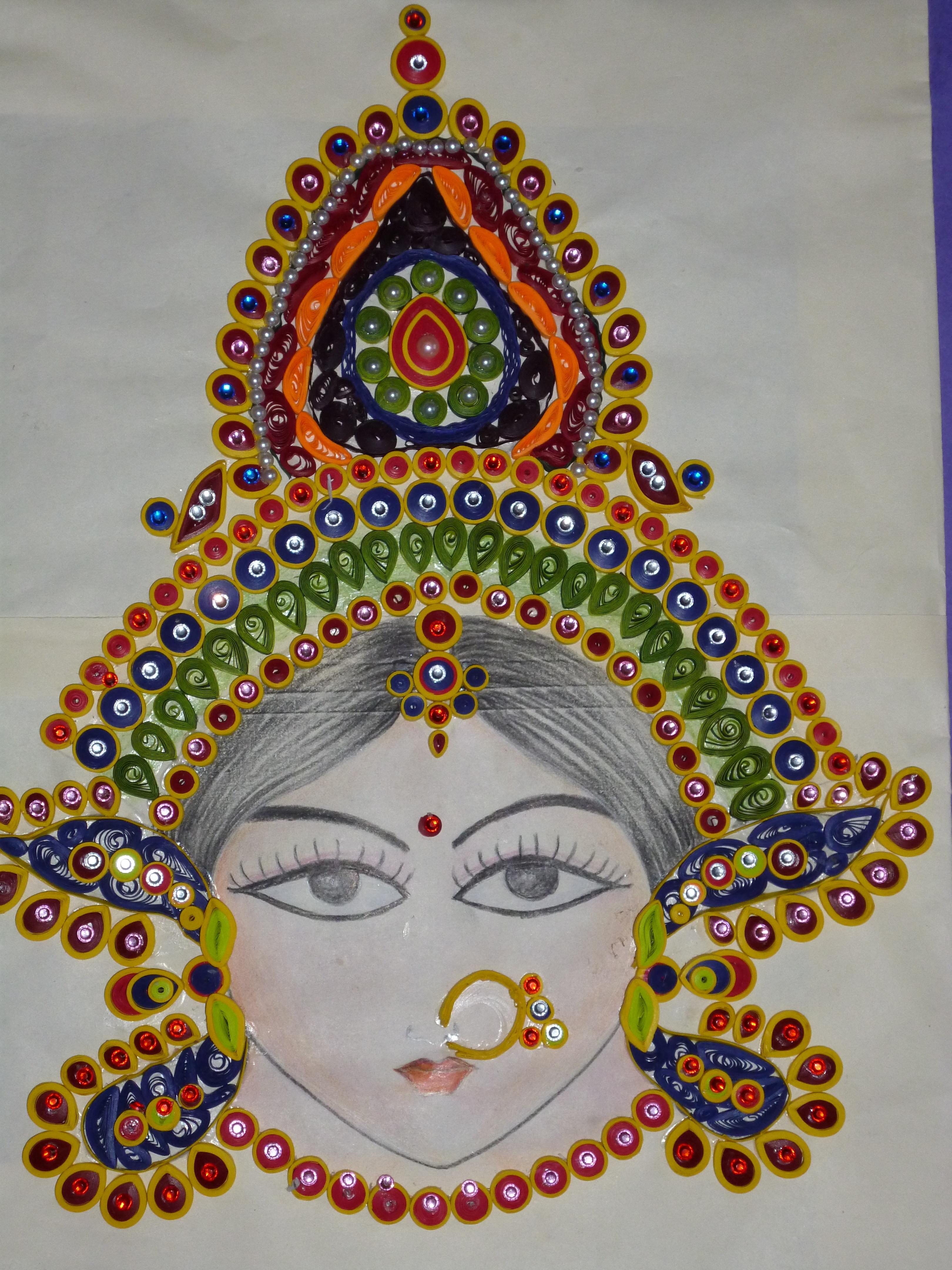 Crafts kreativebhavna for Paper quilling work